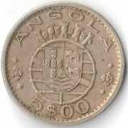 Ангола 1972 5 эскудо