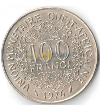 Западная Африка 1976 100 франков