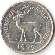 Маврикий 1999 1/2 рупии
