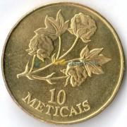 Мозамбик 1994 10 метикал Хлопок