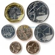 Сейшельские острова 2016 набор 7 монет животные
