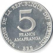 Бурунди 1976-1980 5 франков