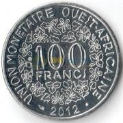Западная Африка 2012 100 франков