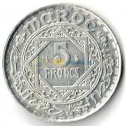 Марокко 1951 5 франков