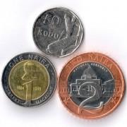 Нигерия 2006 Набор 3 монеты