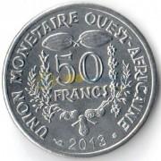 Западная Африка 2013 50 франков
