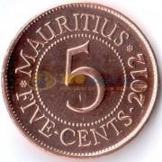 Маврикий 2012 5 центов
