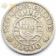 Мозамбик 1954 10 эскудо