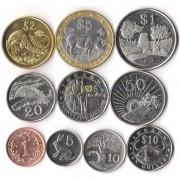 Зимбабве 1997-2003 набор 10 монет