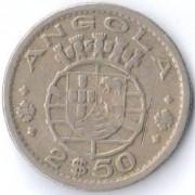 Ангола 1953 2,5 эскудо