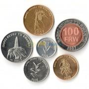 Руанда 2003-2011 набор 6 монет