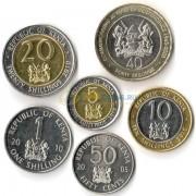 Кения 2003-2010 набор 6 монет