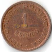 Мозамбик 1963 1 эскудо