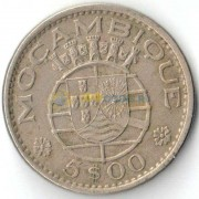 Мозамбик 1971 5 эскудо