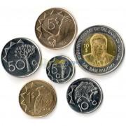 Намибия 2010-2015 набор 6 монет