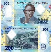 Ангола бона (new) 200 кванза 2020