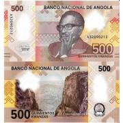 Ангола бона (new) 500 кванза 2020