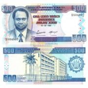 Бурунди бона (037A) 500 франков 1995