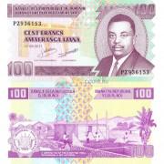 Бурунди бона 100 франков 2011