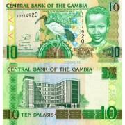 Гамбия бона (026) 10 даласи 2013 Ибис