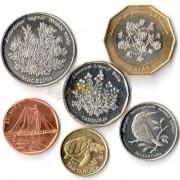 Кабо-Верде 1994 набор 6 монет