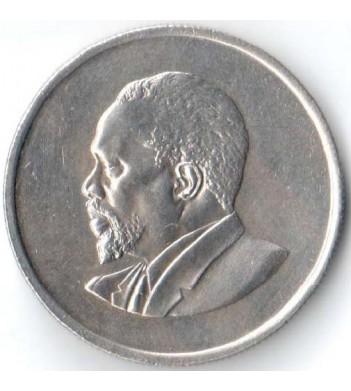 Кения 1966-1968 50 центов Джомо Кениата