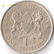 Кения 1969-1978 1 шиллинг Джомо Кениата