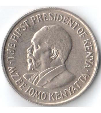 Кения 1969-1978 50 центов Джомо Кениата