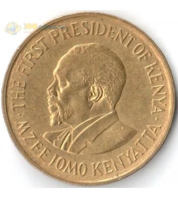 Кения 1969-1978 5 центов Джомо Кениата