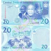 Лесото бона 20 малоти 2010