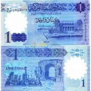 Ливия бона (new) 1 динар 2019