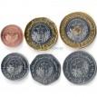 Мавритания 2017-2018 набор 6 монет