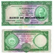 Мозамбик бона (109) 100 эскудо 1961