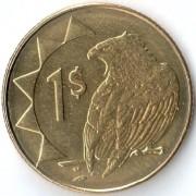 Намибия 2010 1 доллар Орел скоморох