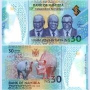 Намибия бона (new) 30 долларов 2020