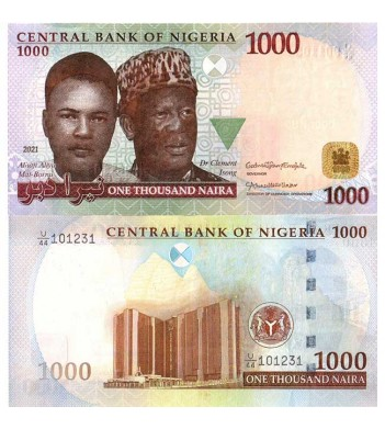 Нигерия бона 1000 найра 2021