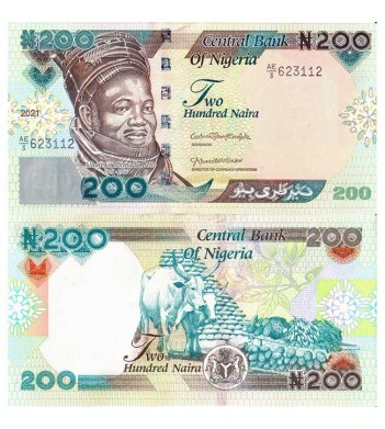 Нигерия бона 200 найра 2021