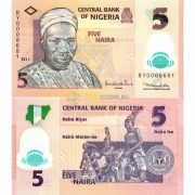 Нигерия бона (38c) 5 найра 2011