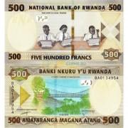 Руанда бона (new) 500 франков 2019