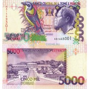 Сан-Томе и Принсипи бона (65) 5000 добра 1996