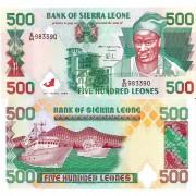 Сьерра-Леоне бона (023a) 500 леоне 1995