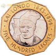 Сьерра-Леоне 2004 500 леоне Вождь Кай Лондо