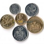 Свазиленд 2015 набор 6 монет