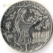 Тунис 2013 1 динар (1434)