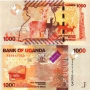 Уганда бона (049a) 1000 шиллингов 2010 Антилопы