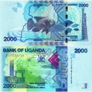 Уганда бона (050e) 2000 шиллингов 2019 Рыба