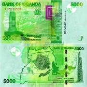 Уганда бона 5000 шиллингов 2013 Экватор