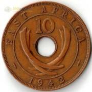 Восточная Африка 1937-1945 10 центов