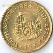 ЮАР 1961-1964 1 цент