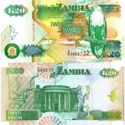 Замбия бона (036) 20 квача 1992